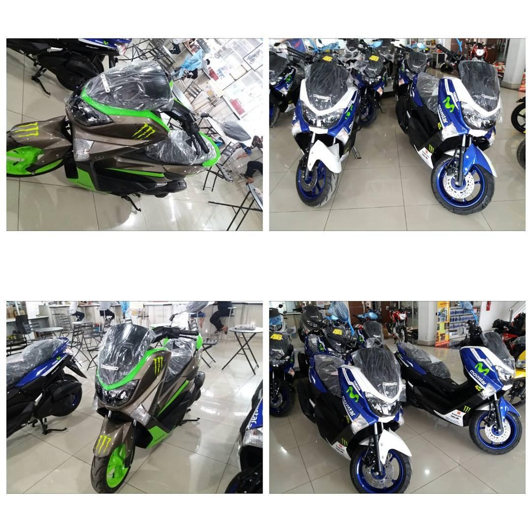 Yamaha N Max Livery Movistar Yamaha Moto Gp Keren Rubber Cookie