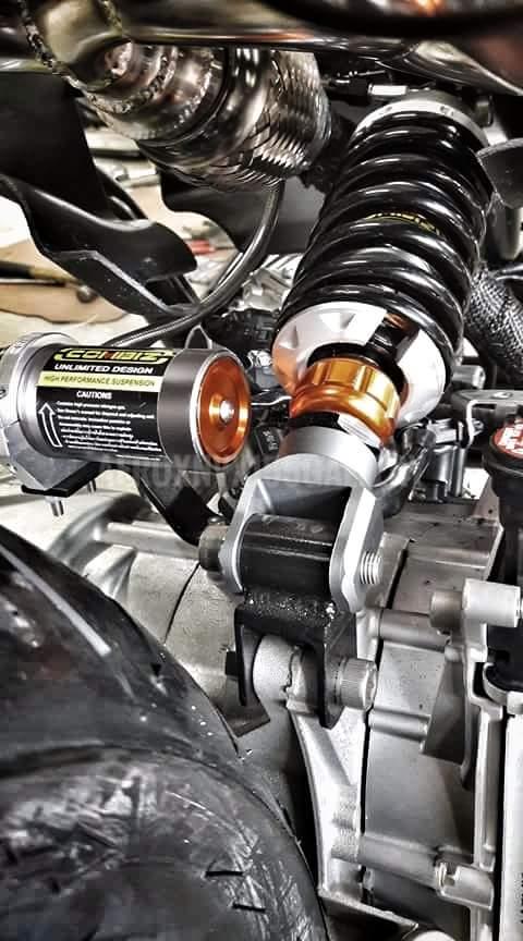 Yamaha Aerox 155 VVA Bobber Keren Maksimal