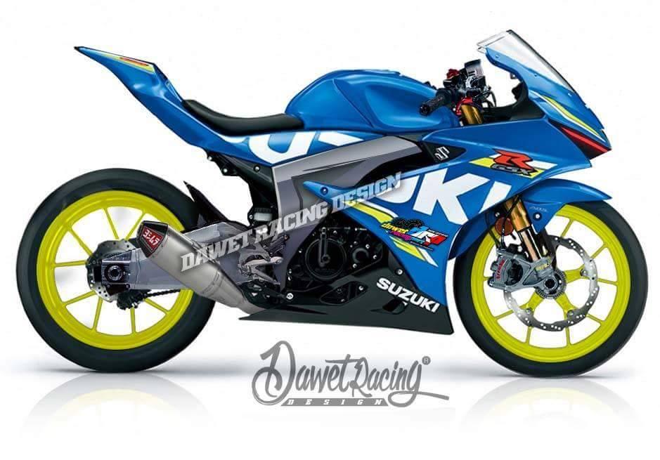 Inspirasi Modifikasi Suzuki GSX R 150, Keren !!!