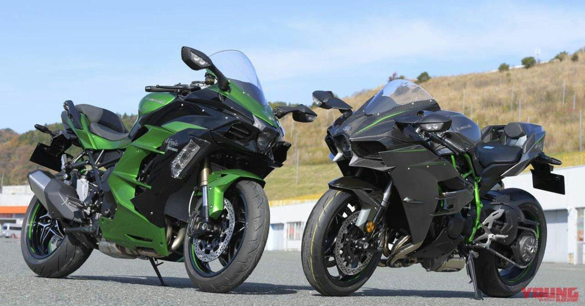 Ini Perbandingan Posisi Berkendara Kawasaki H2 Dan Kawasaki H2 SX SE, Gak Jinjit Jinjit Amat Ternyata.