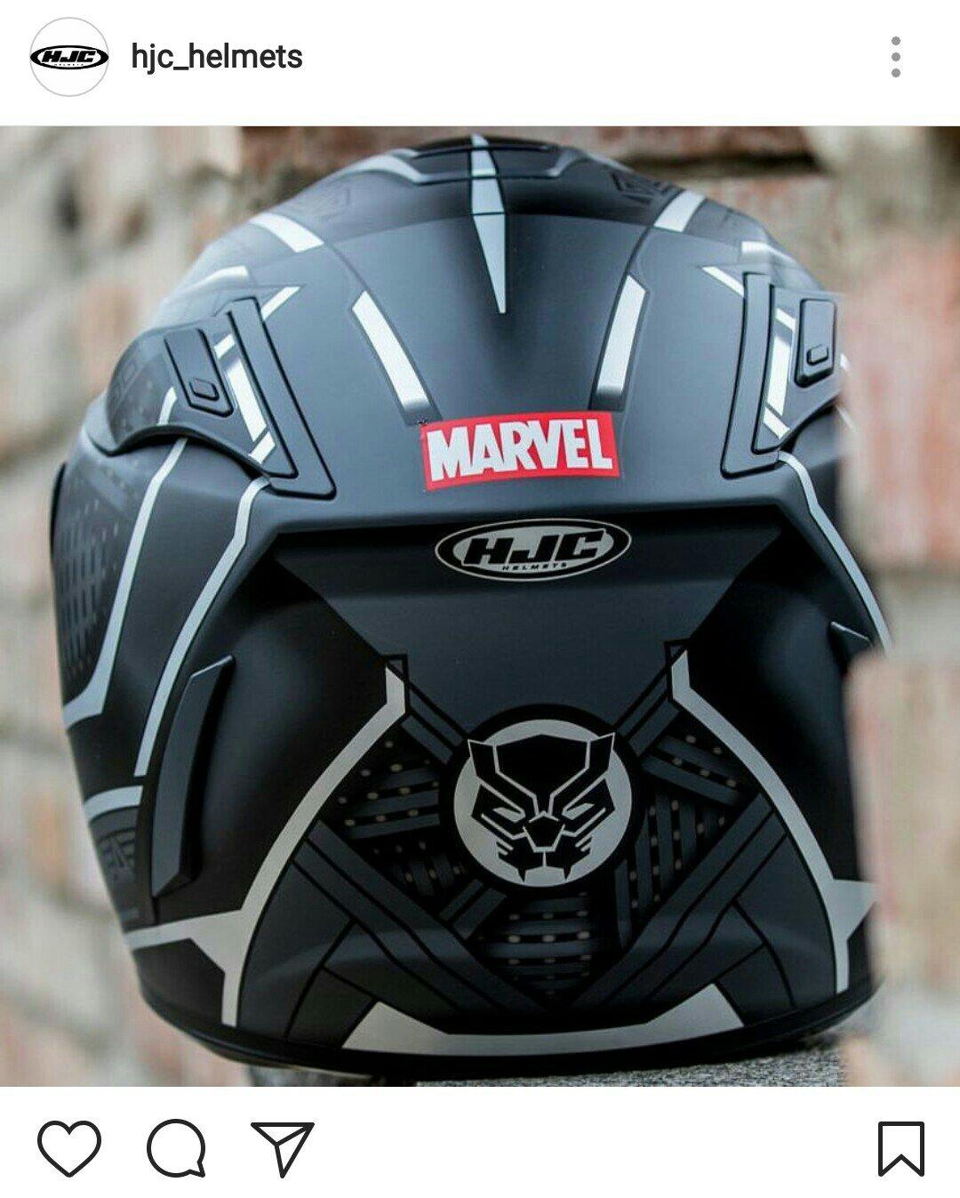 hjc helmets siap luncurkan helm dengan tema superhero. Black Bedroom Furniture Sets. Home Design Ideas
