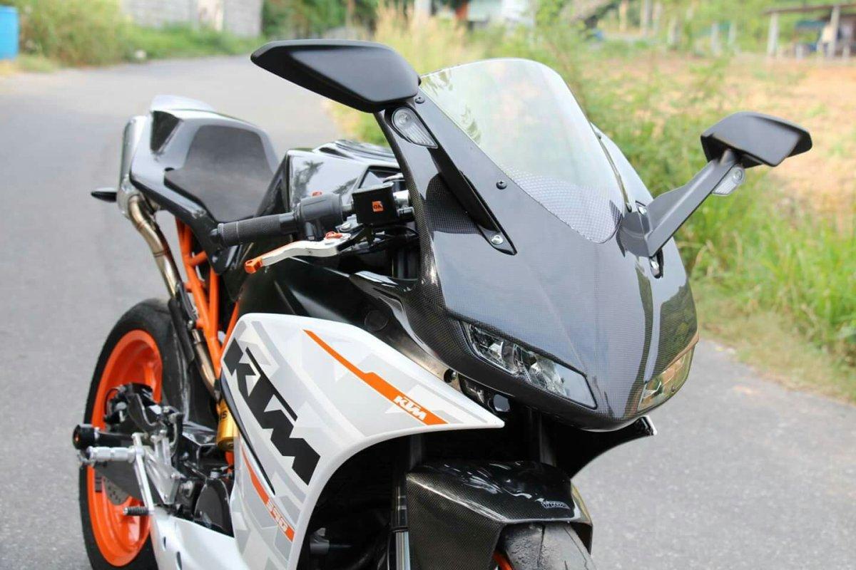 Hilang Sudah Tampang Culun KTM RC 390 Berkat Bodykit Tyga Performance !!!