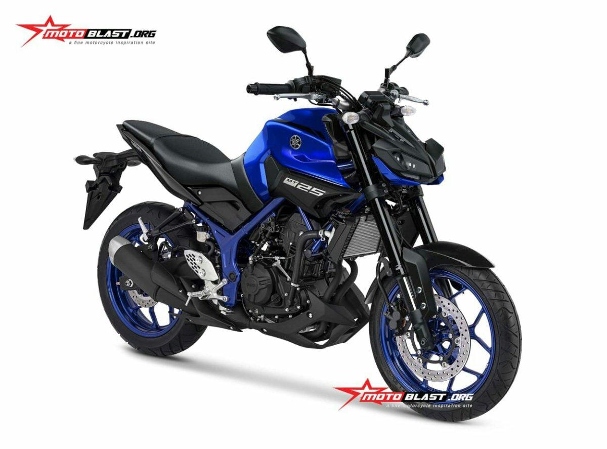 Keren Nih Yamaha MT25 Facelift Jika Seperti Ini