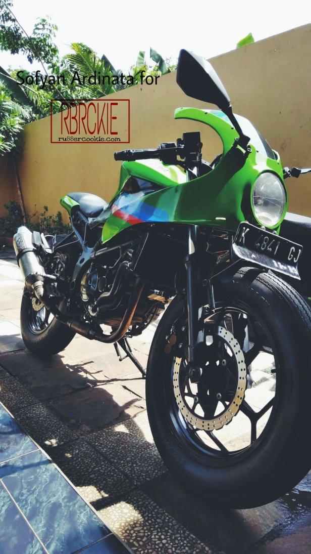 Keren Kawasaki Ninja 250 Sl Ini Jadi Cafe Racer Rubber