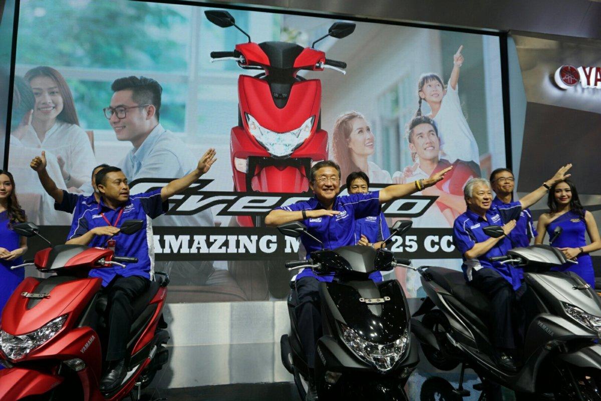 Yamaha Free Go, Sepeda Motor Matic Amazing Terbaru Dari Yamaha
