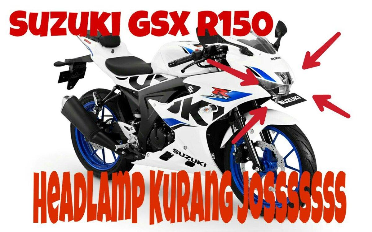 Bentuk Asli Kurang Menarik, Ini Deretan Hasil Modifikasi Headlamp Custom Suzuki GSX R150