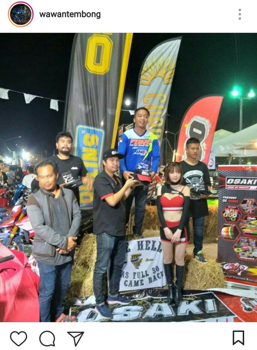 Wawan Tembong Kembali Kuasai Burapa Battle Stunt 2019, Juara di Dua Kelas Sekaligus