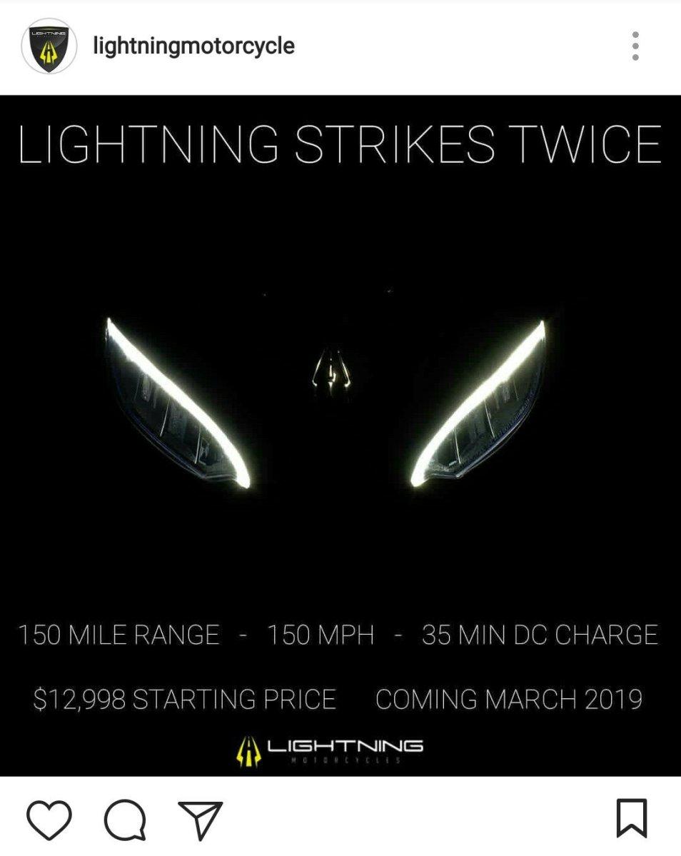 Lightning Motorcycles Siapkan Superbike Elektrik Baru, Sanggup Tembus Kecepatan 241 Kmh