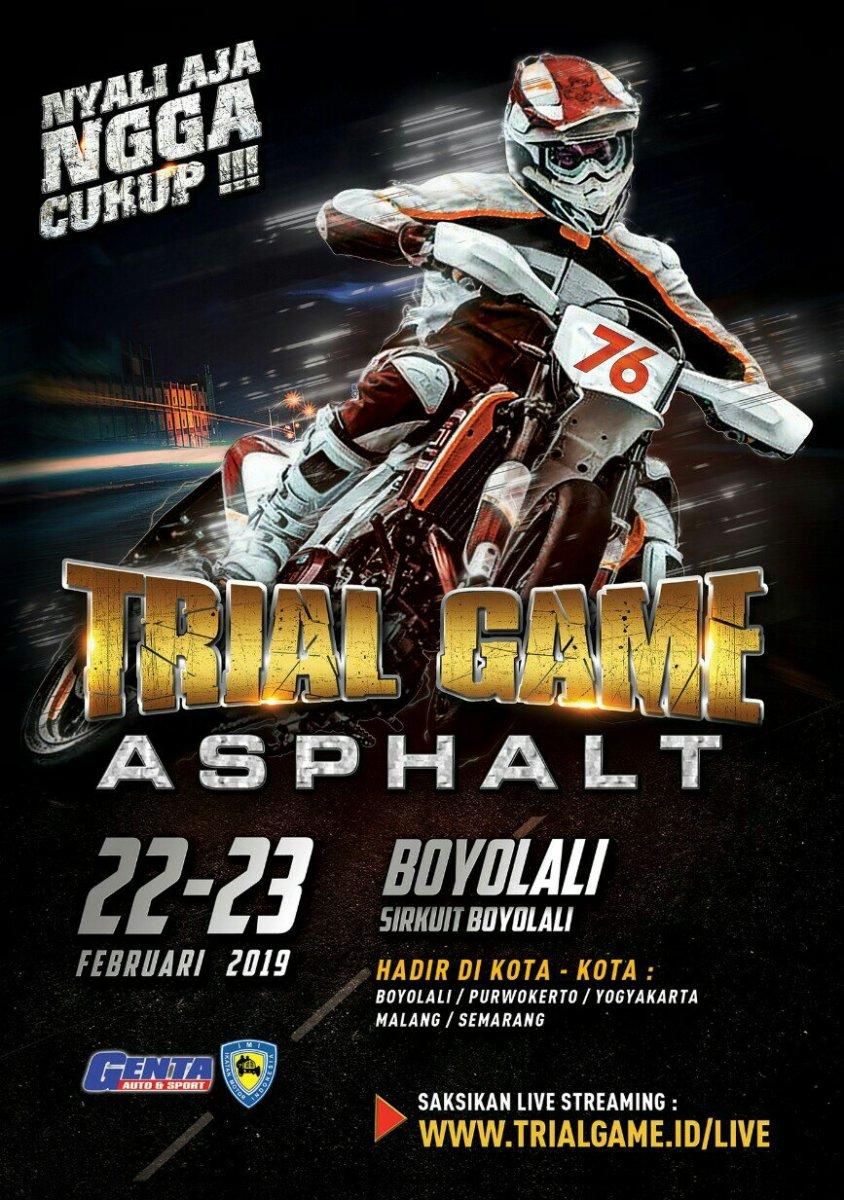Jadwal Lengkap Trial Game Asphalt 2019 Seri I Boyolali